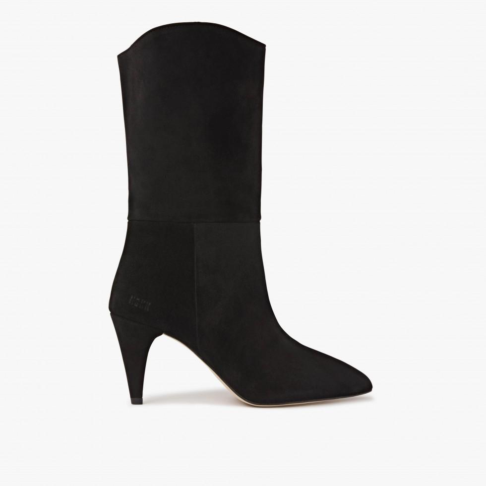 Nubikk Ace Botan Black Boots