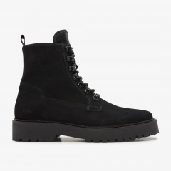 Logan Harbor Suede | Black Boots