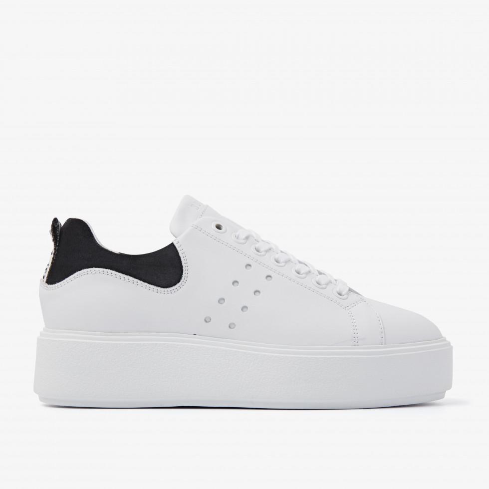 Nubikk Elise Marlow Black White Sneakers