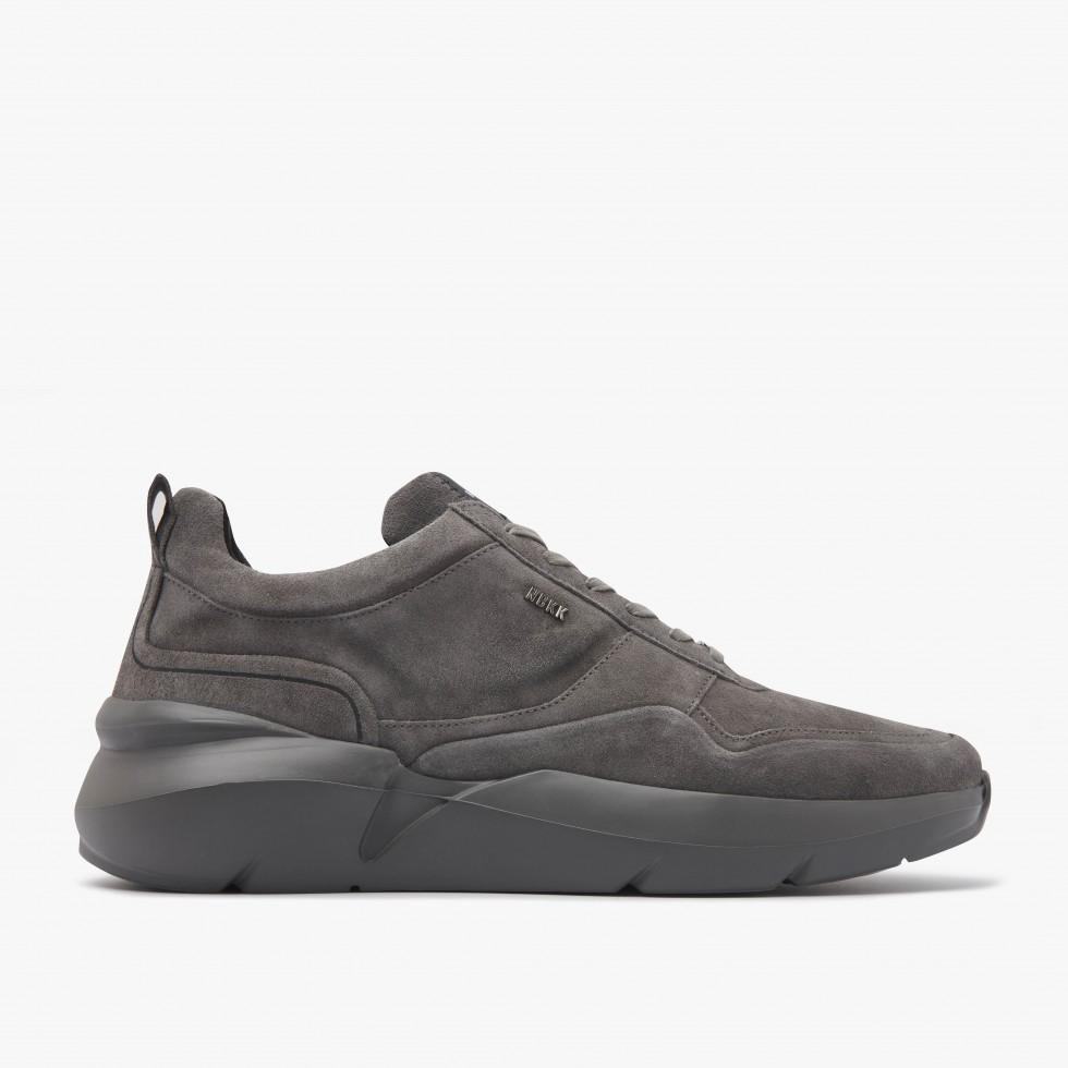Nubikk Elven Nagare Donkergrijze Sneakers