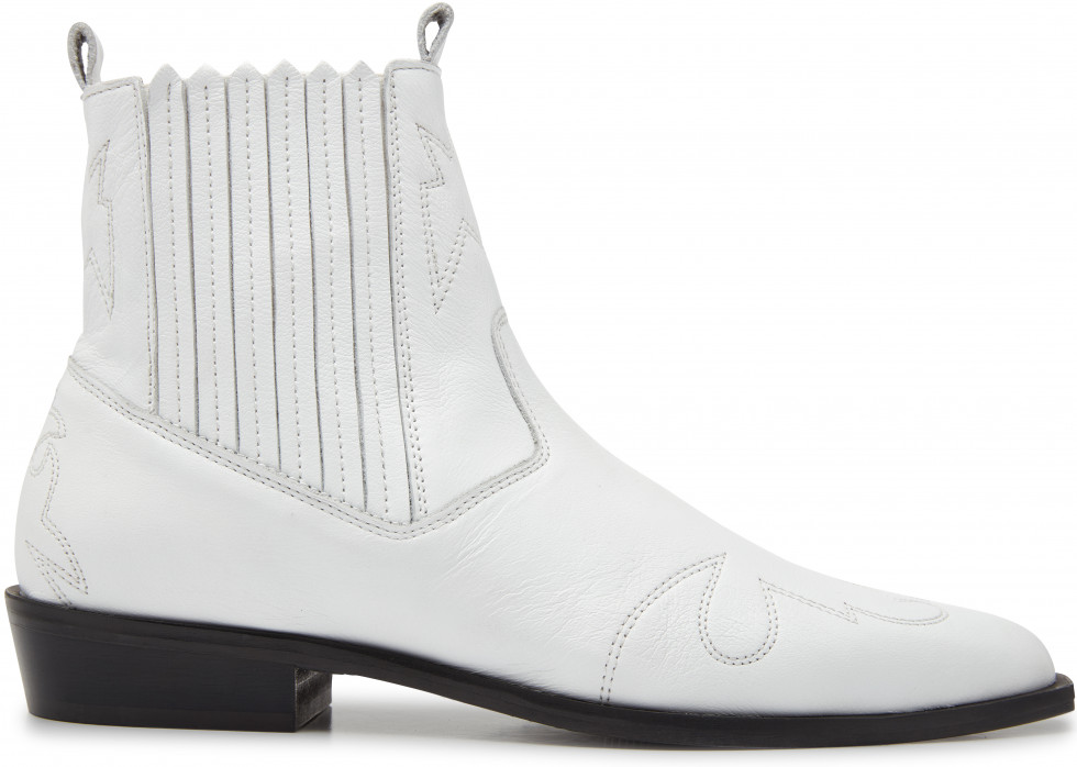 White Ankle Boots Jimmy Cura Nubikk