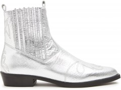 Jimmy Cura | Silver Ankle Boots