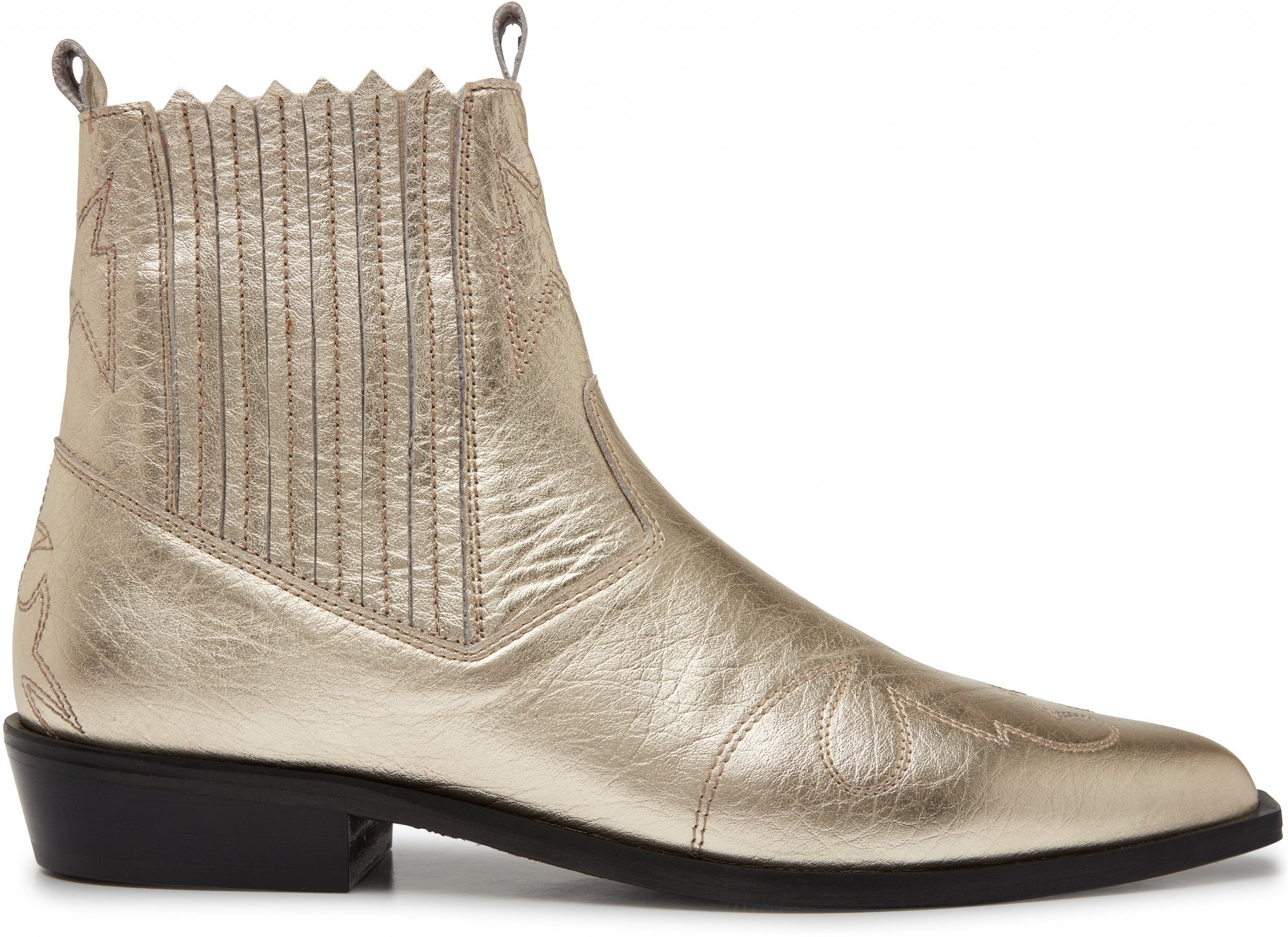 Golden Ankle Boots Jimmy Cura Metal Nubikk 99655cb59