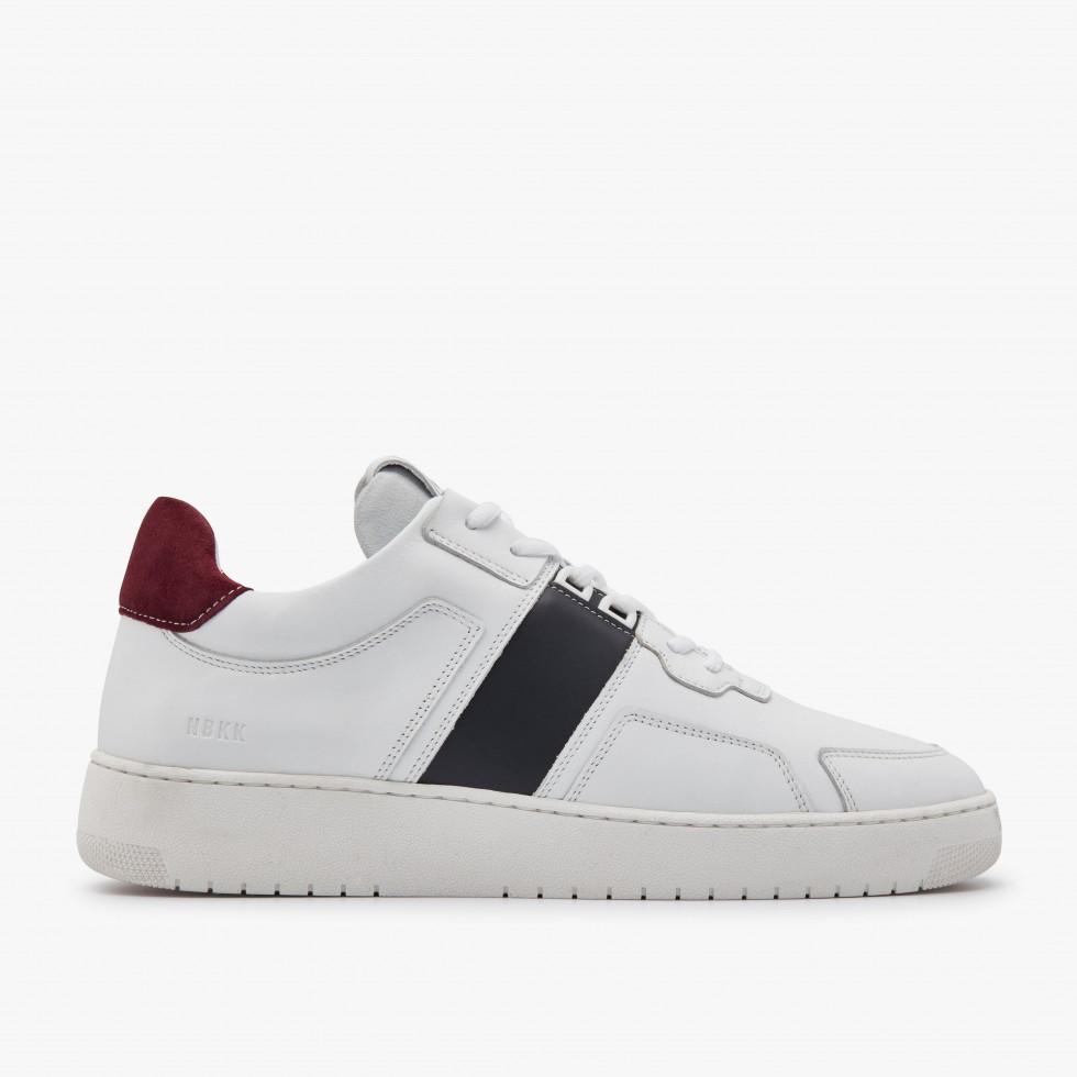 Navy White Sneakers Yucca Cane Nubikk
