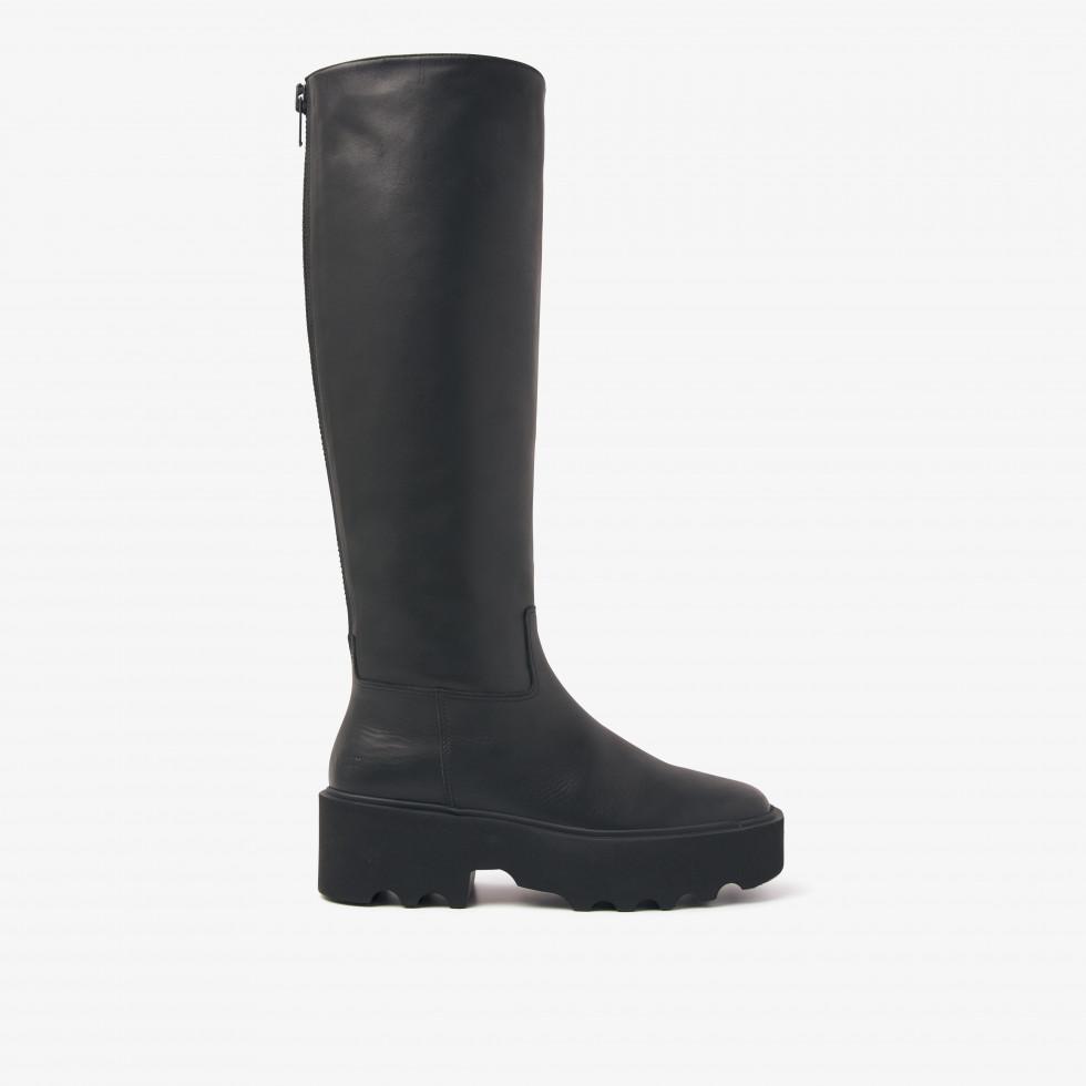 Nubikk Fara Zip Schwarze Boots