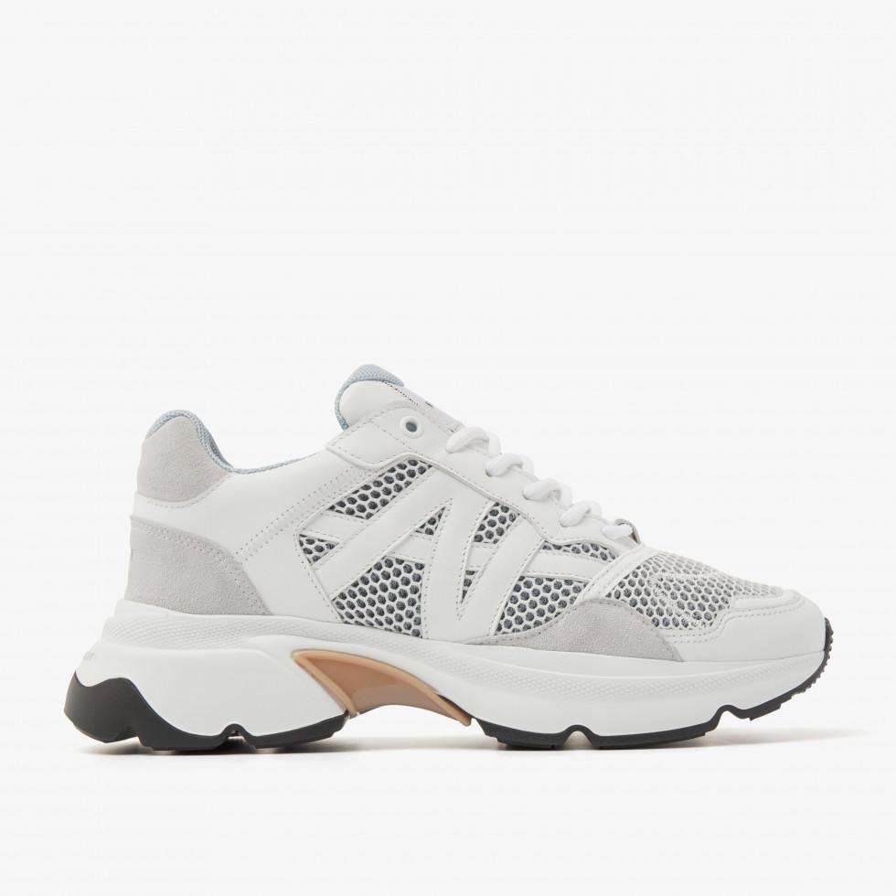 Nubikk Ross Trek L White Sneakers