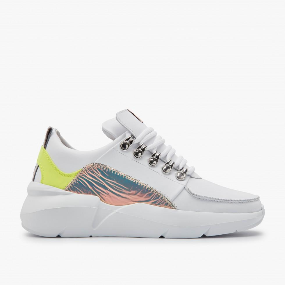 Fluor White Sneakers Lucy Royal Nubikk
