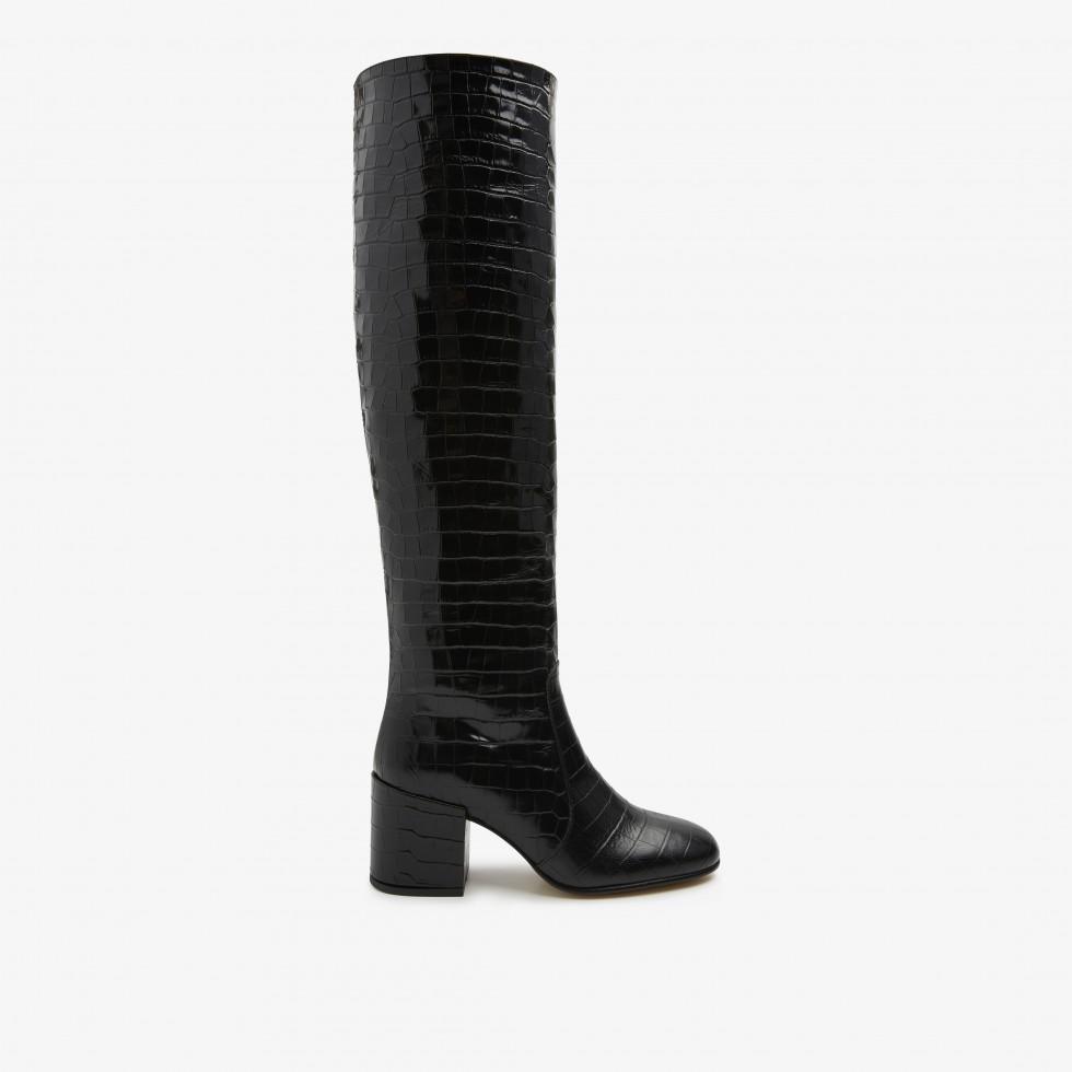 Black Boots Gigi Melba Nubikk
