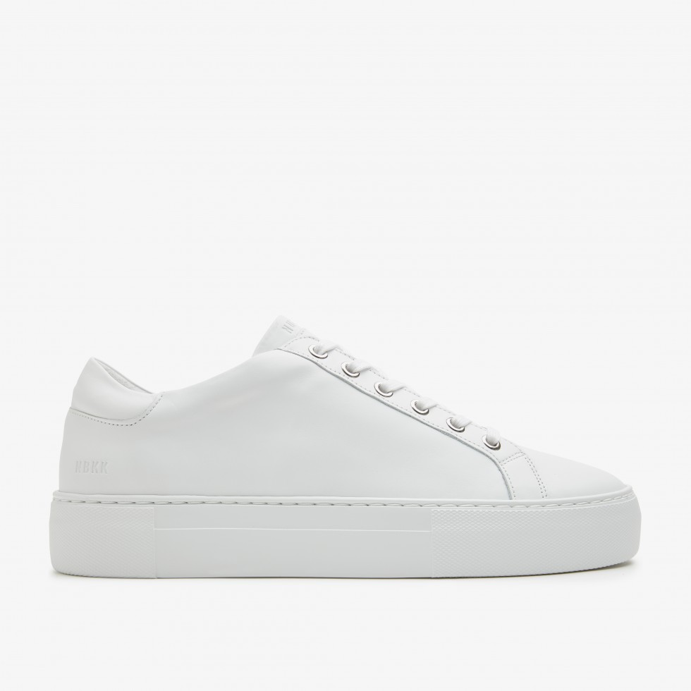 White Trainers Jagger Pure Nubikk