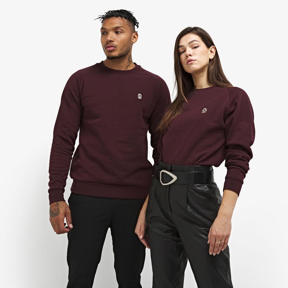 Nubikk Sem Burgundy Sweater