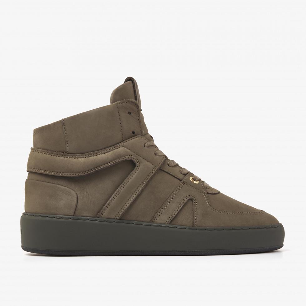 Nubikk Jiro Dunk Forest Green Sneakers