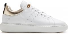 Rox Multi Gold | Witte Sneaker