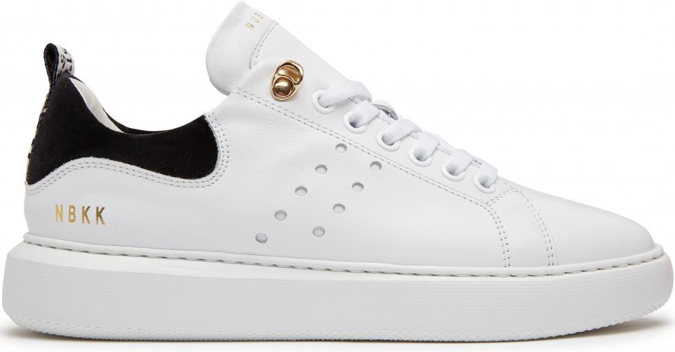 Weiße Sneaker Rox Calf Nubikk