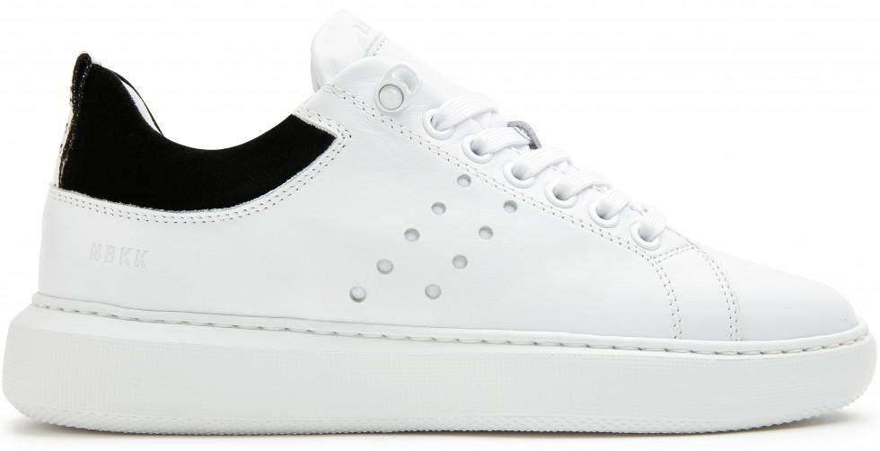 Witte Sneaker Rox Calf Nubikk