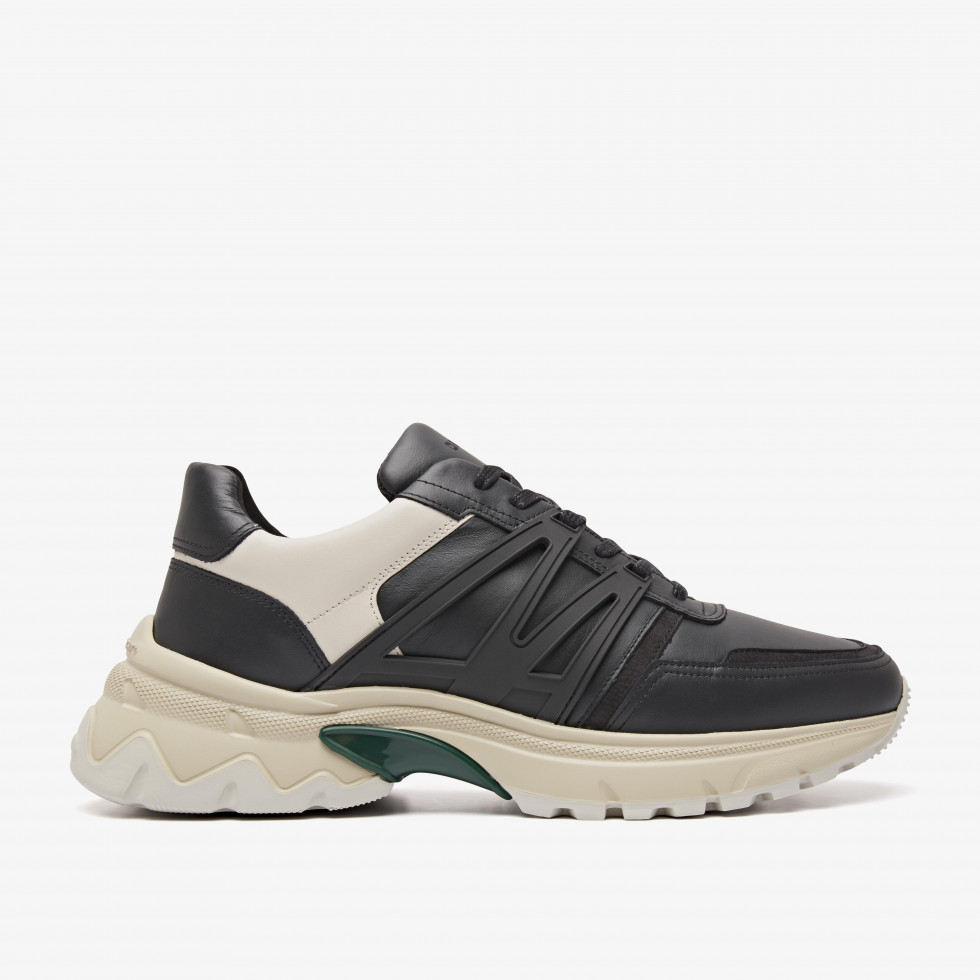 Nubikk Pantheon Track Black Sneakers