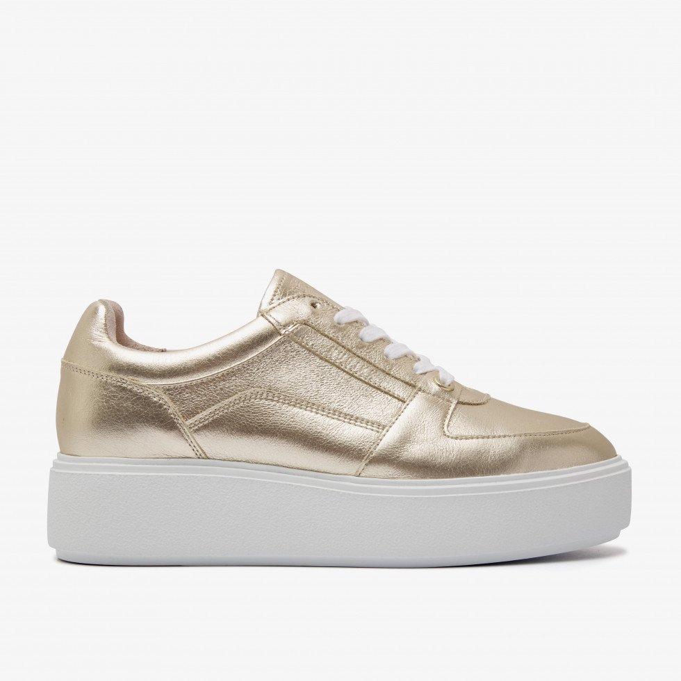 Nubikk Elise Bloom Gold Sneakers