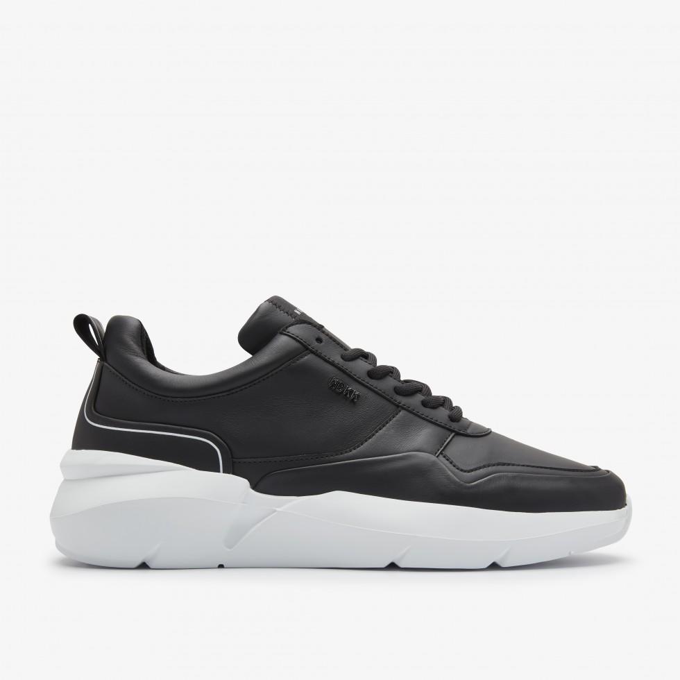 Zwarte Sneaker Elven Nagare Nubikk