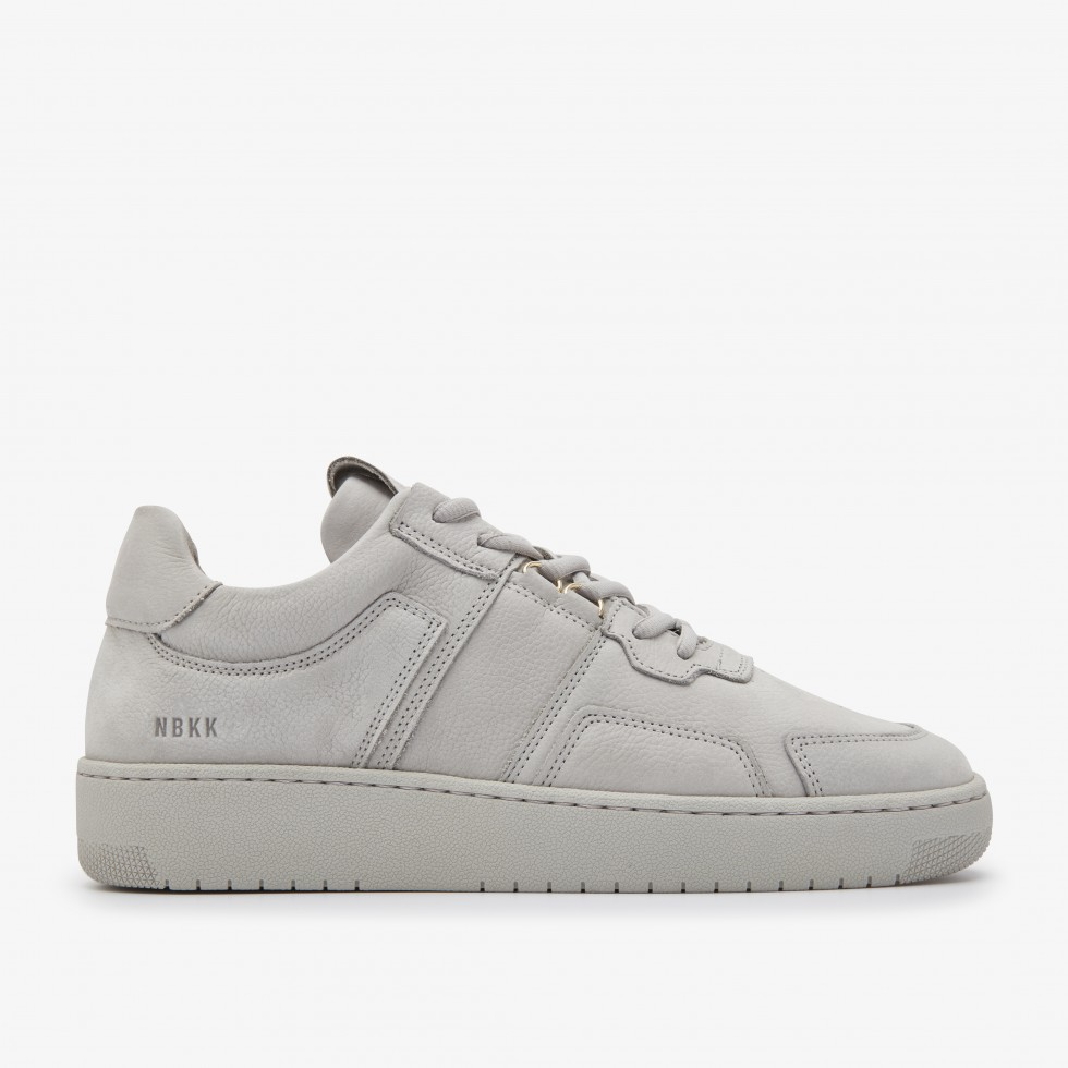 Grey Sneakers Yucca Cane L Nubikk
