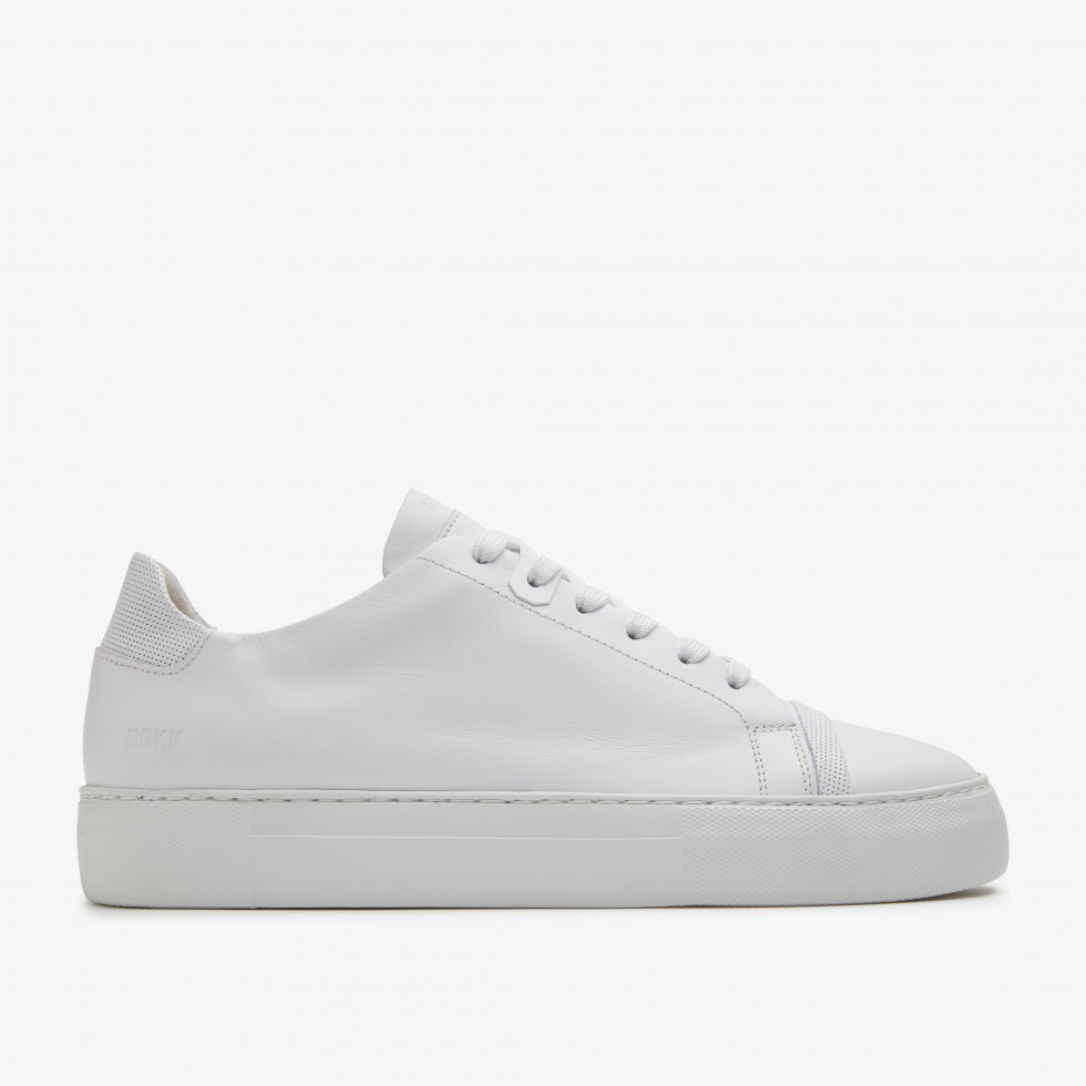 White Sneakers Jagger Aspen Nubikk