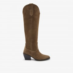 Alex Gilly   Taupe Boots