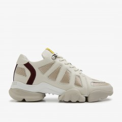 Jill Razor | Beige Sneakers