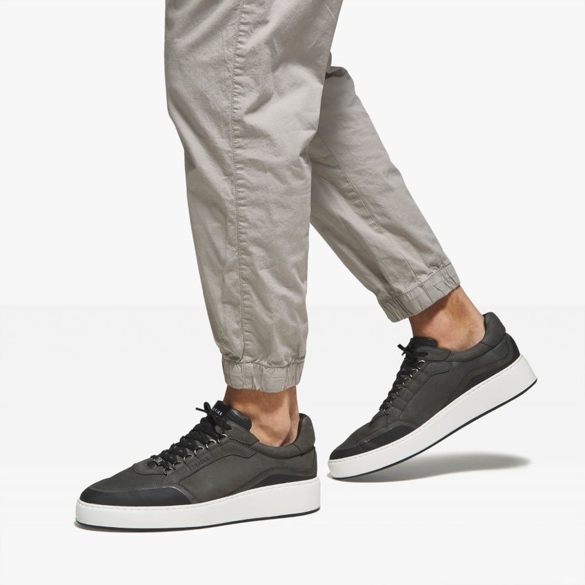 Dark Grey Sneakers Jiro Jones Nubikk