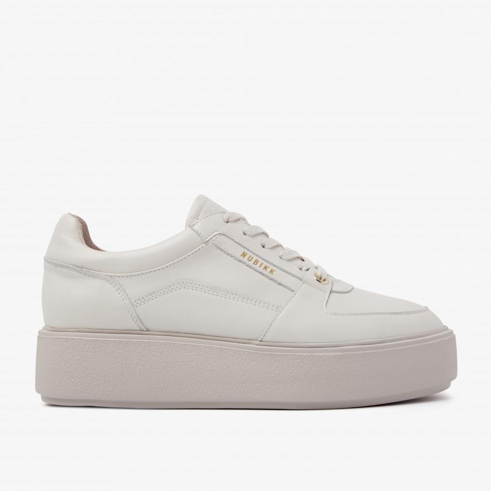 Nubikk Elise Bloom Beige Sneakers