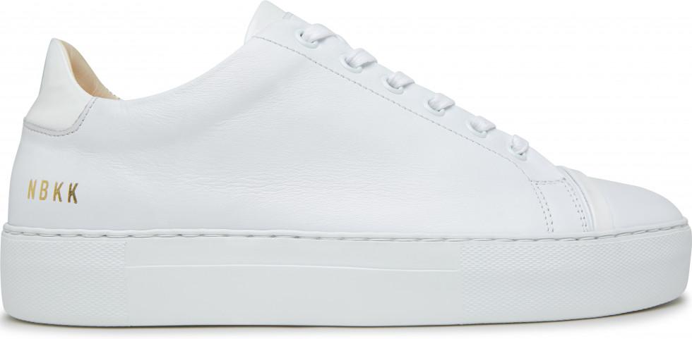 Weiße Sneaker Jolie Joe Nubikk