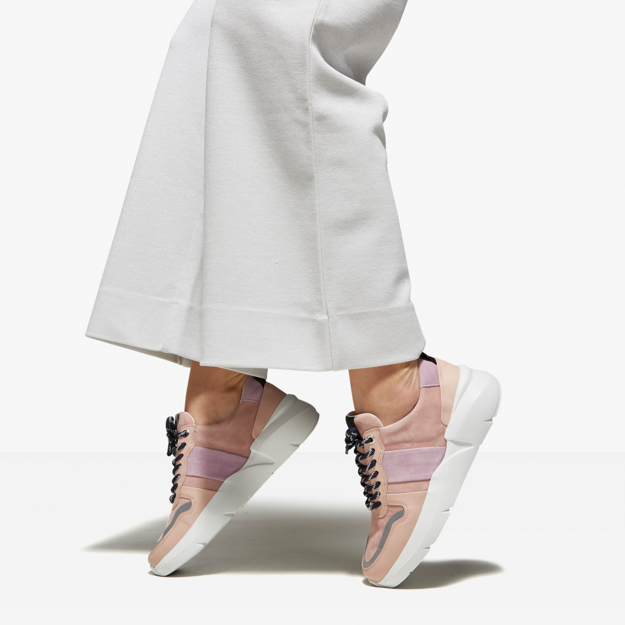 Lucy May | Nude Sneakers