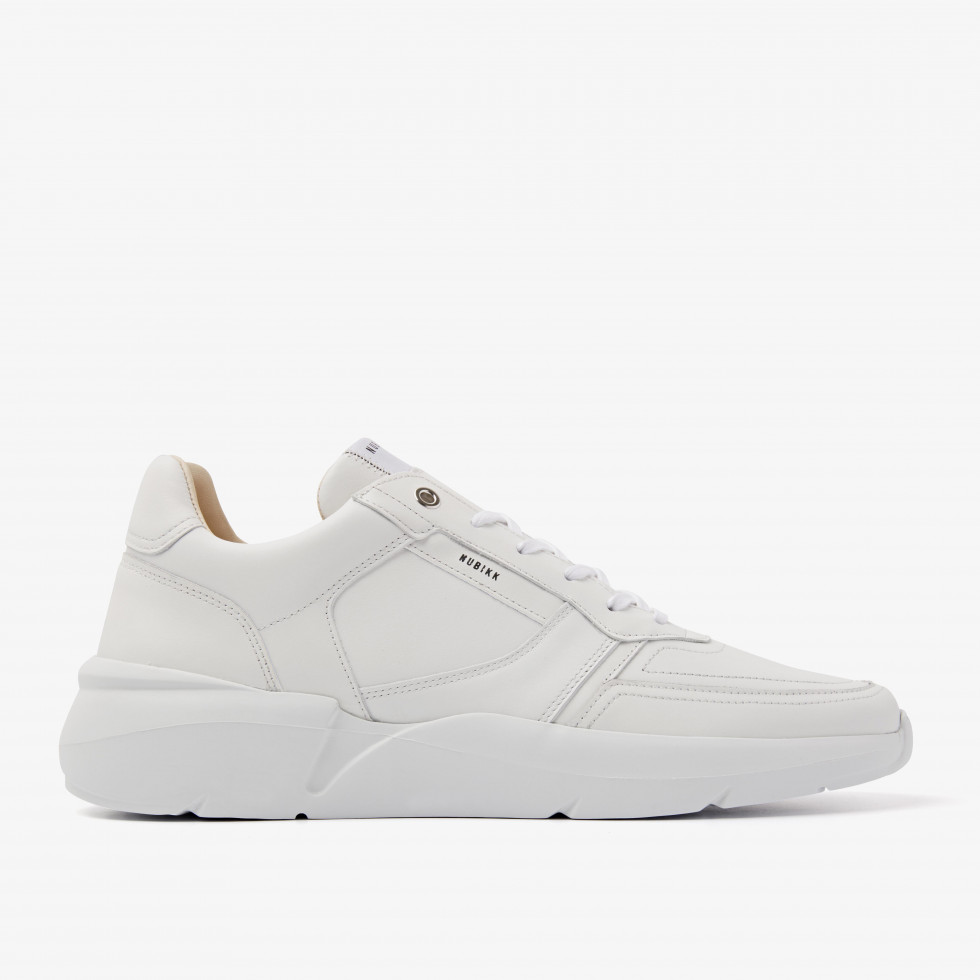 Nubikk Roque Road White Sneakers