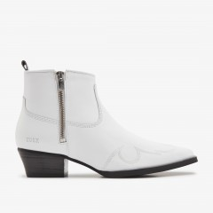 Holly Golf | White Ankle Boots