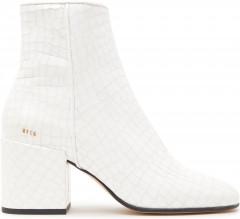 Gigi Croco | Witte Enkellaarsjes