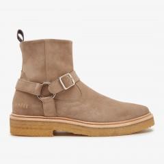 Logan Belt | Taupe Boots