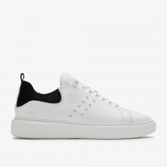 Scott Calf II | White Sneakers