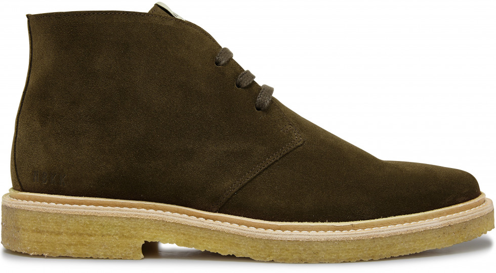 Grüne boots Logan Desert II Nubikk