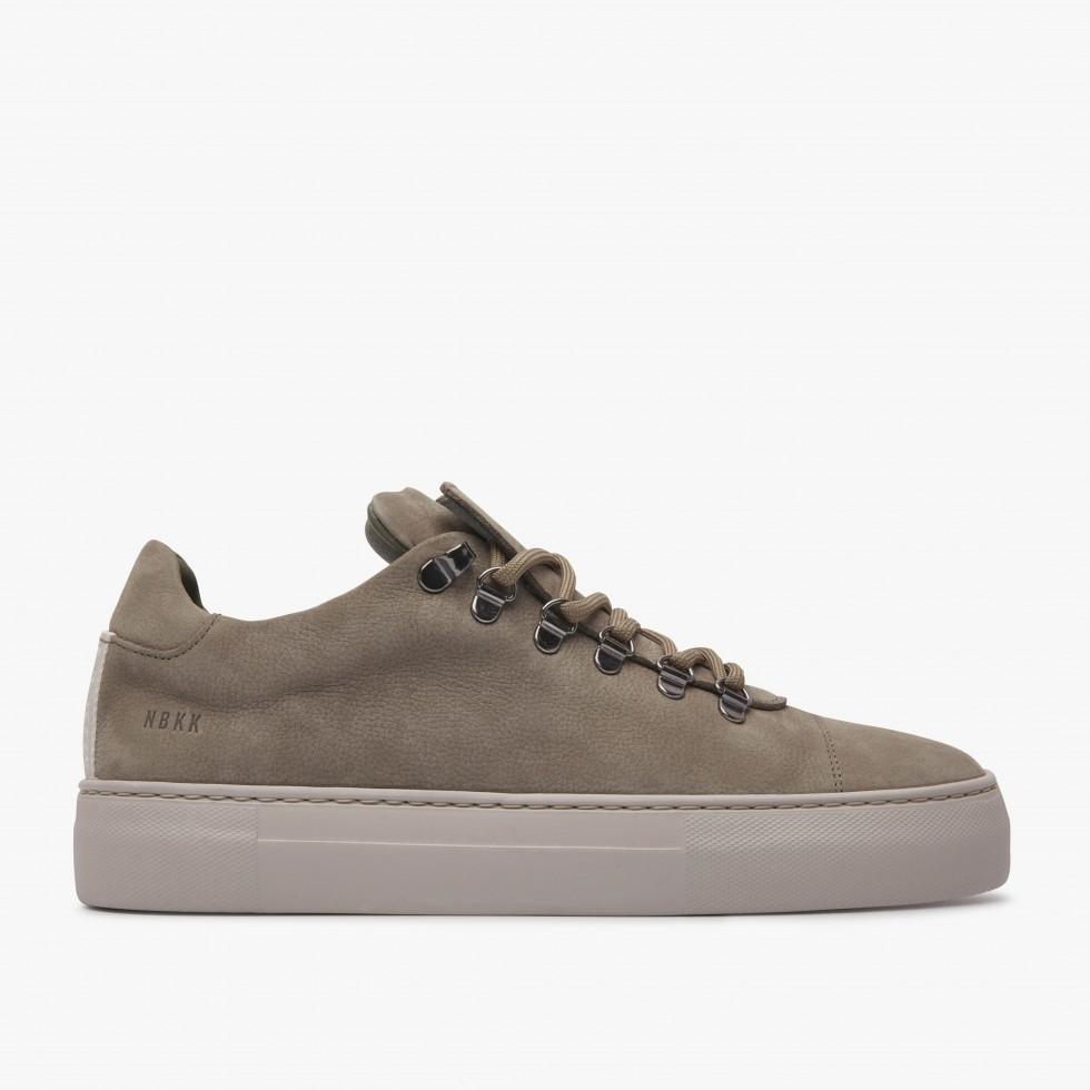 Nubikk Jagger Nubuck Green Sneakers