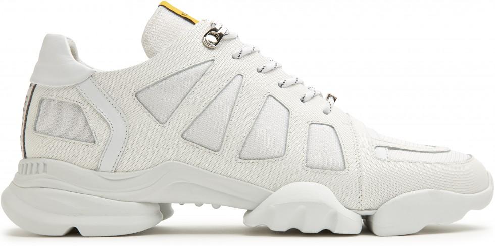 Witte Sneaker Mylan Razor Nubikk