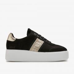 Elise GPS | Zwarte Sneaker