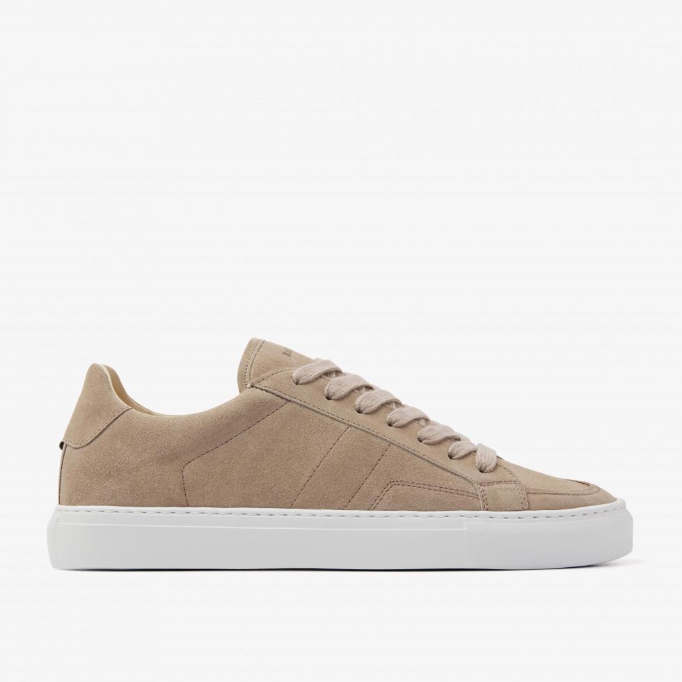 Nubikk Jase Issy Taupe Suede Sneakers