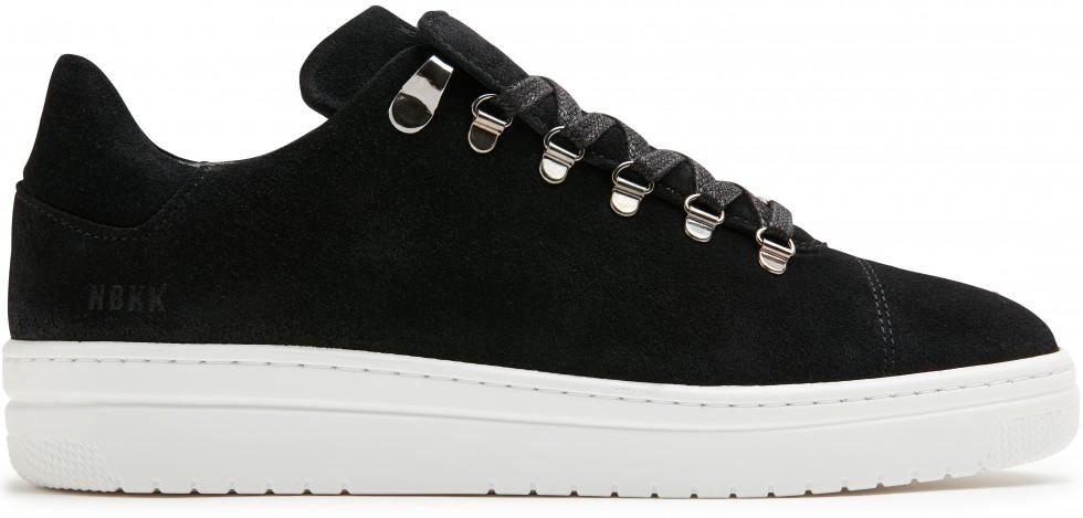 Zwarte Sneaker Yeye Suede Lt L Nubikk