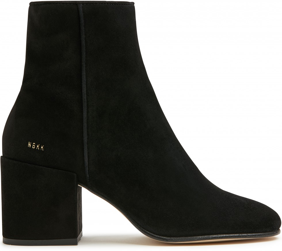 Black Ankle Boots Gigi Suede Nubikk