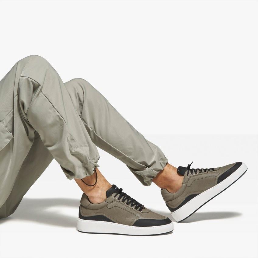Green Sneakers Jiro Jones Nubikk