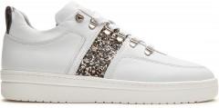 Yeye Maze Glitter | Witte Sneaker