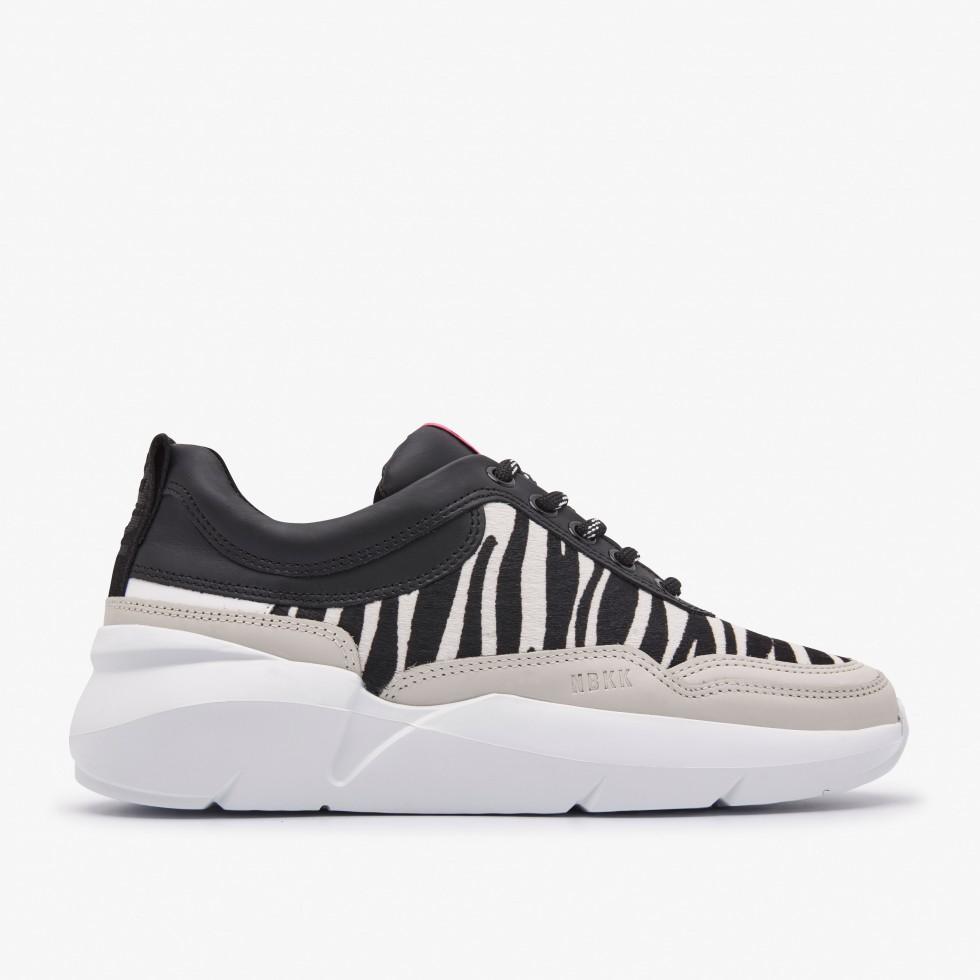 Zebra Sneakers Lucy Sue Nubikk