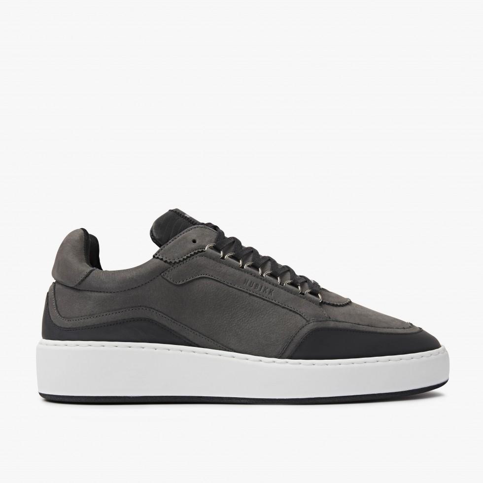 Nubikk Jiro Jones Dk Grijze Sneakers