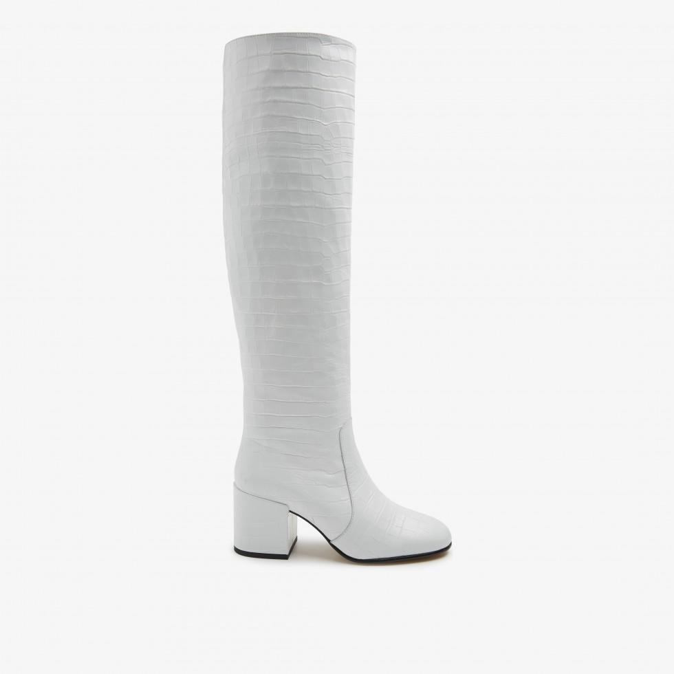 White Boots Gigi Melba Nubikk