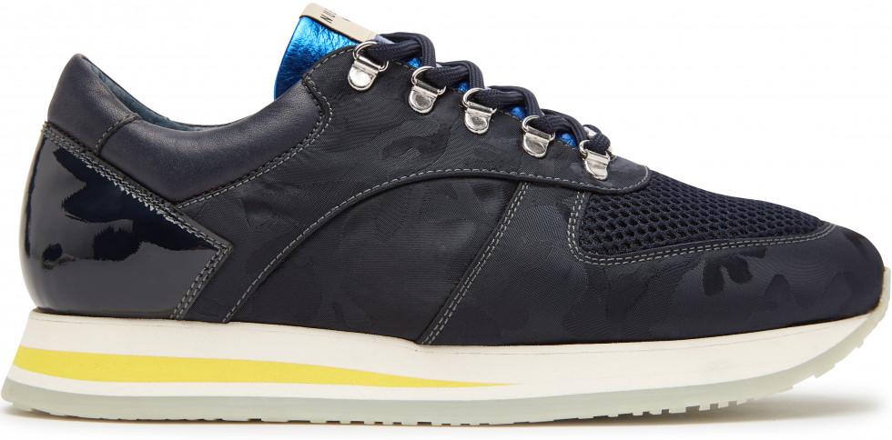 Blaue Sneaker Evi Jay Camo Nubikk