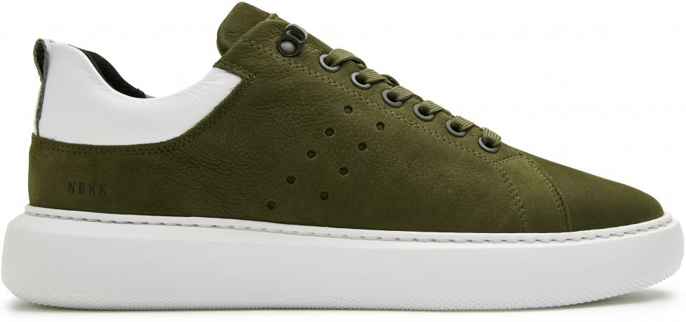 Groene Sneaker Scott Nubuck Nubikk