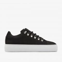 Jagger Nubuck | Zwarte Sneakers