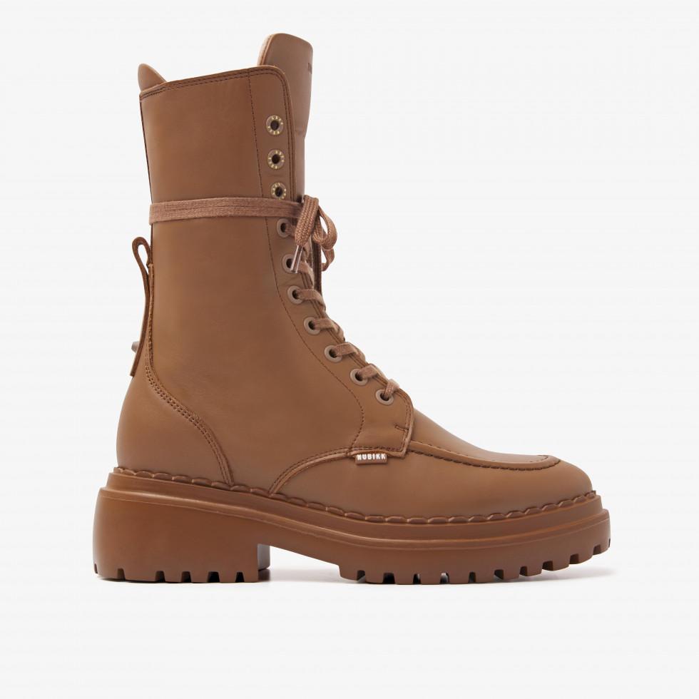 Nubikk Fae Aubine Hazel Biker Boots